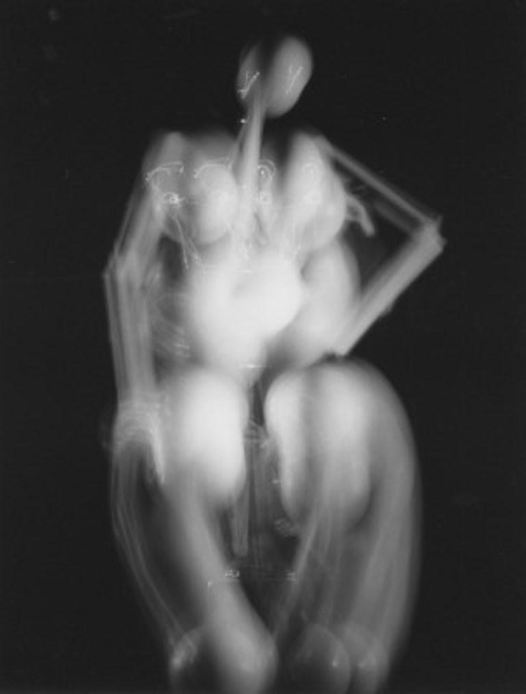 Philippe Halsman. Dali sculpture with light 1950 Via argentic-photo