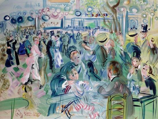 Raoul Dufy. Le Moulin de la Galette 1939