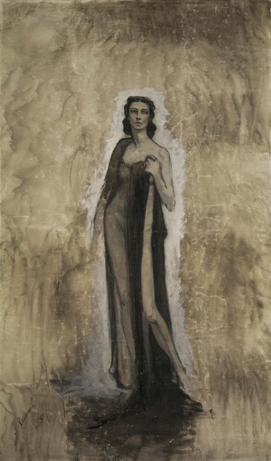 Romaine Brooks. Ida Rubinstein 1912