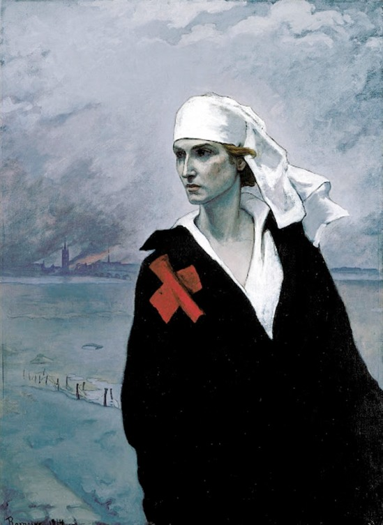 Romaine Brooks.  La France croisée 1914