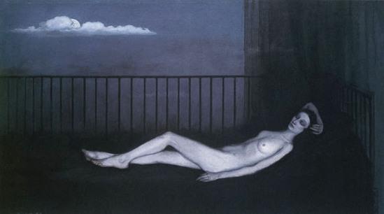 Romaine Brooks. La vénus triste (Ida Rubinstein) 1917