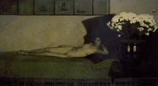 Romaine Brooks. Les azalées blanches 1910