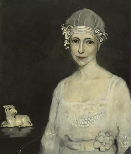 Romaine Goddard . La chèvre blanche vers 1914-1915