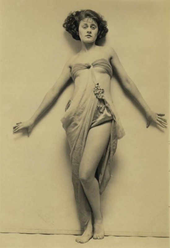 Theda Bara by Charles Gates Sheldon