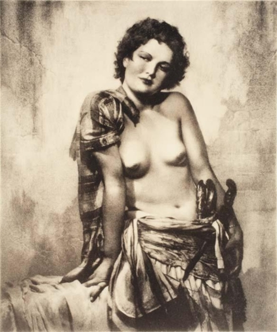 William Mortensen. Cafe dancer 1930 Via mutualart