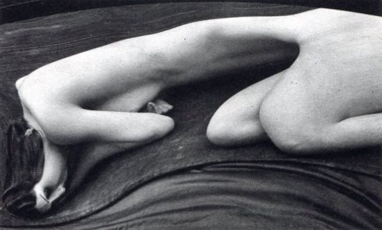 Andre Kertesz. Distorted nude Via liveauctioneers