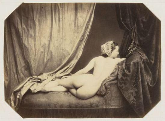 Auguste Belloc. Nude. c. 1858 Via moma