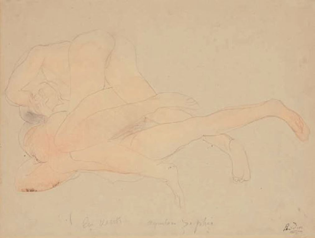 Auguste Rodin. Les vents vers 1900