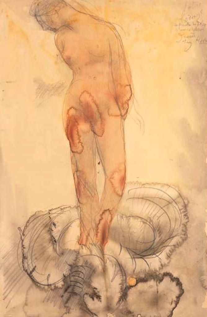 Auguste Rodin. Lotus ou l'orage vers 1900