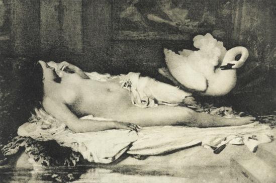 Charles Nègre. Leda 1850 Via moma