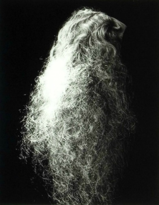 Erwin Blumenfeld. La chevelure (hair) 1935 Via photographyandarthistoryrocks.com