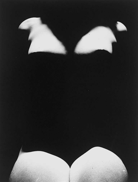 Erwin Blumenfeld. Nude with shadows 1950 Via mutualart