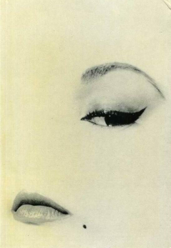 Erwin Blumenfeld. Oeil de biche 1950 Via delcampe.net