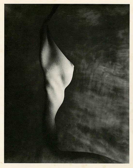 Erwin Blumenfeld. Profile of bust 1947  Via invaluable