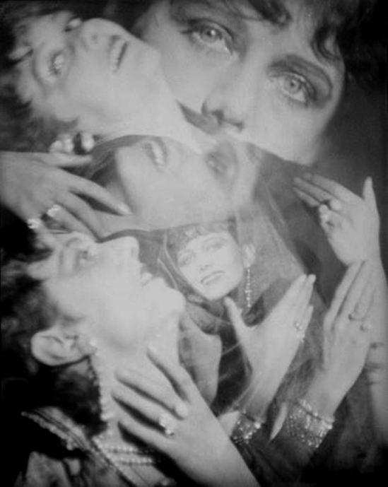 Francis Bruguière. Rosalinde Fuller 1923 Via historicalzg