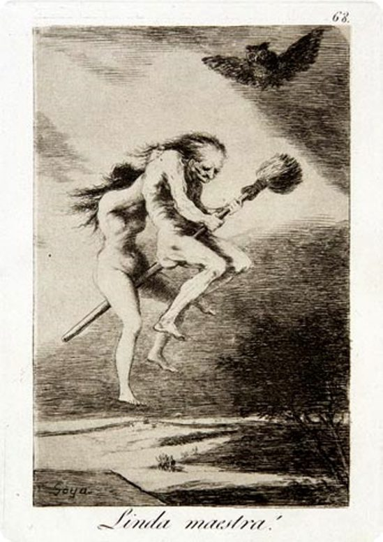 Francisco Goya. Pretty teacher