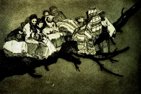 Francisco Goya. Ridiculous folly 1812-1820