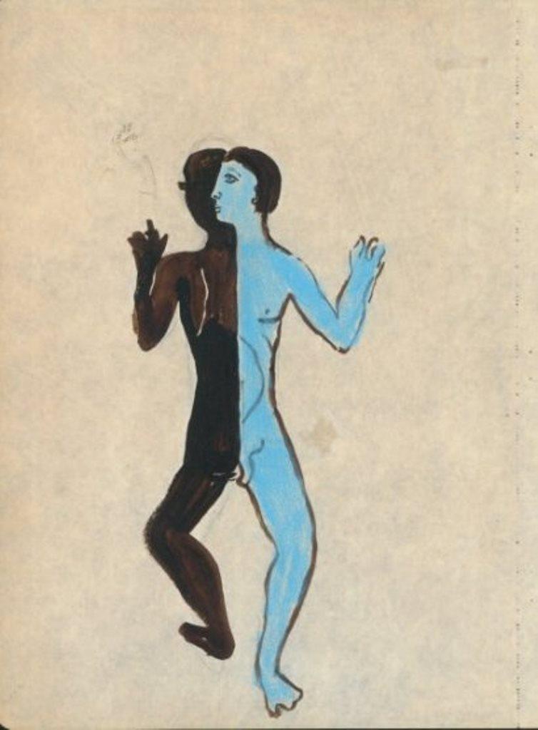Jean Cocteau. Aquarelle et gouache Via drouot