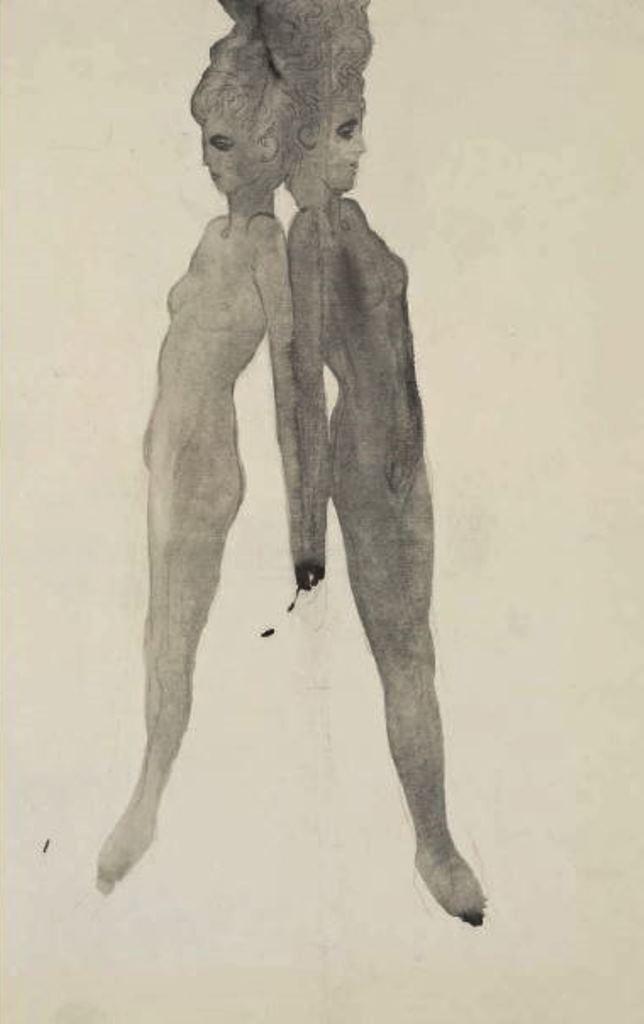 Léon Spilliaert. Etude pour l'élévation 1902