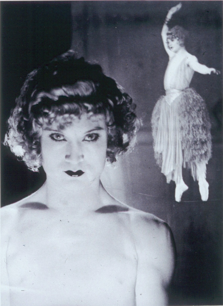 Man Ray. Barbette 1926 Via academic.evergreen.edu