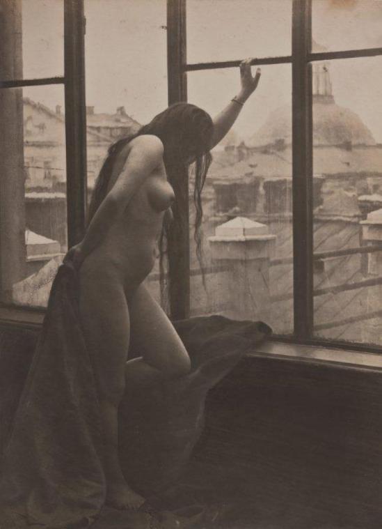 Marian Dederko. Dans l'atelier du peintre 1930. Via uwiklanewplec.com.jpg