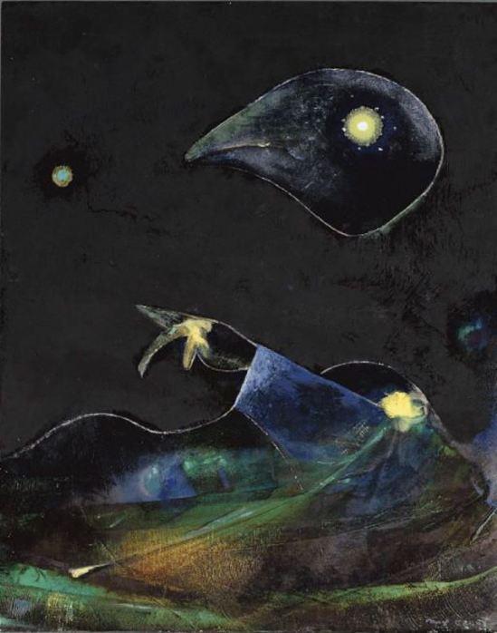 Max Ernst. Nocturne 1967