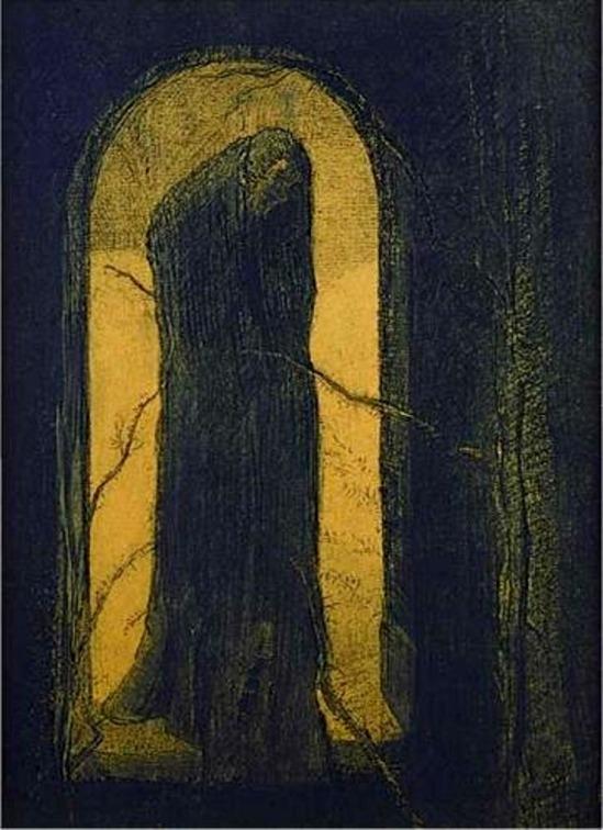 Odilon Redon. La douleur 1893