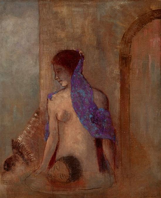Odilon Redon. Salomé 1910 Via lechantdupain