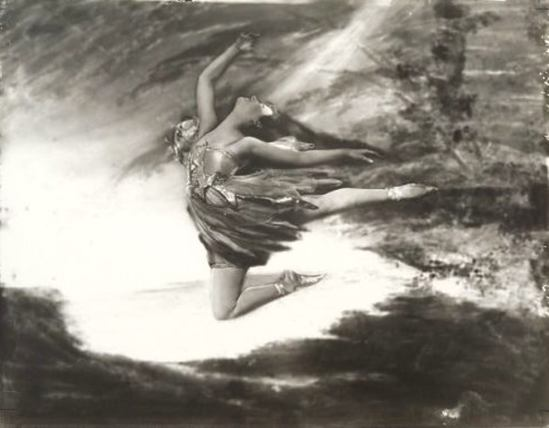 Orval Hixon. Anna Alcova 'Flying'1920 Via historicalzg