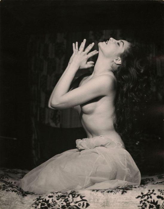 Peter Basch. Julie Newmar 1950 Via ebay