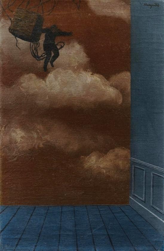 René Magritte. Le Changement des couleurs 1928