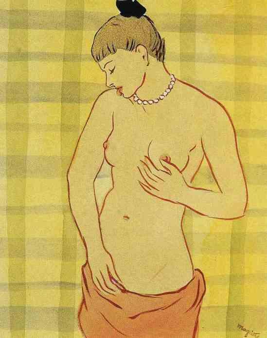 René Magritte. Le galet 1948