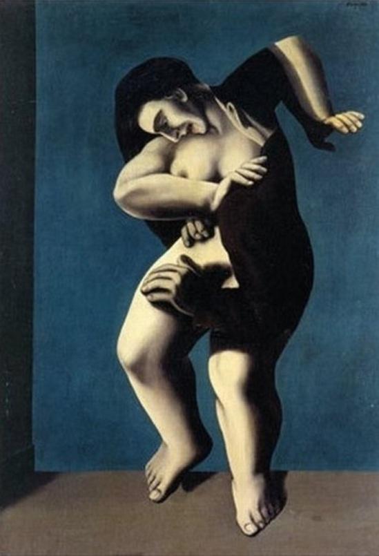 René Magritte. Les jours gigantesques 1928