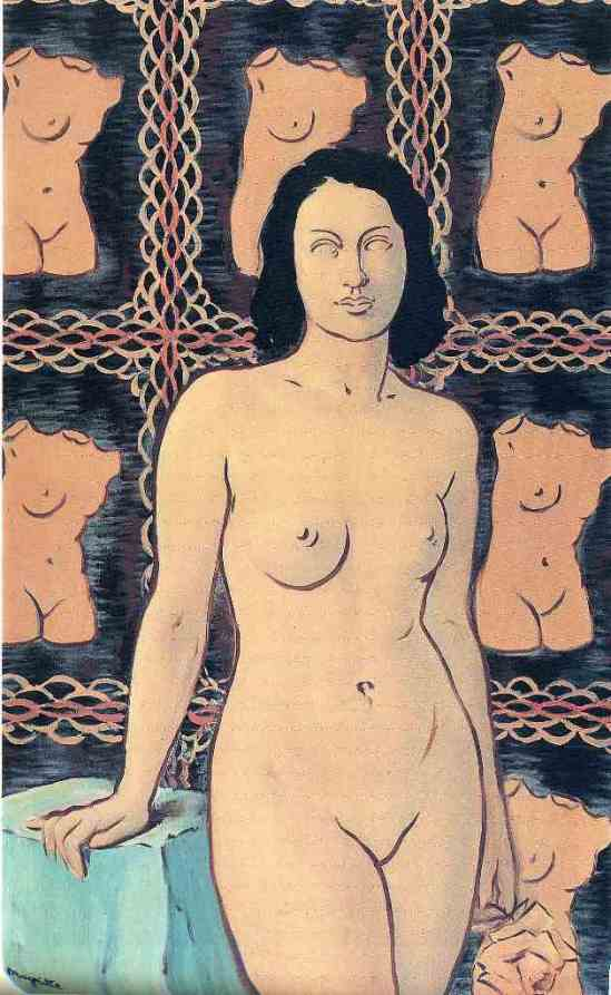 René Magritte. Lola de Valence 1948