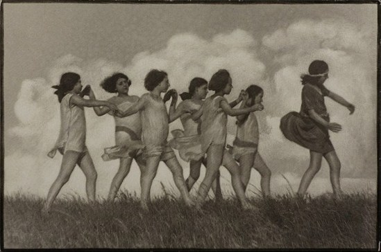 Rudolf Koppitz. Spring  1923 Via invaluable