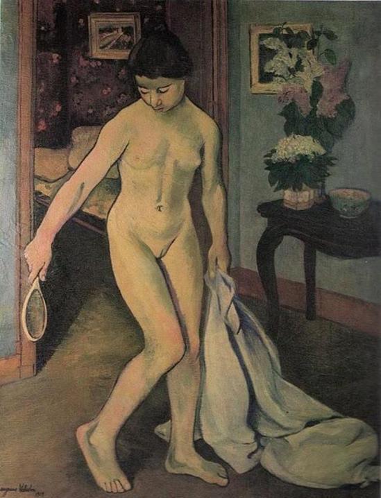 Suzanne Valadon. Nu au miroir  1909