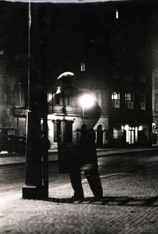 Vaclav Chochola. Night walker 1949 Via mutualart