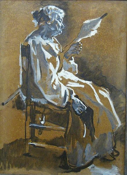 Adrien de Witte. Portrait de Madame Adrien de Witte