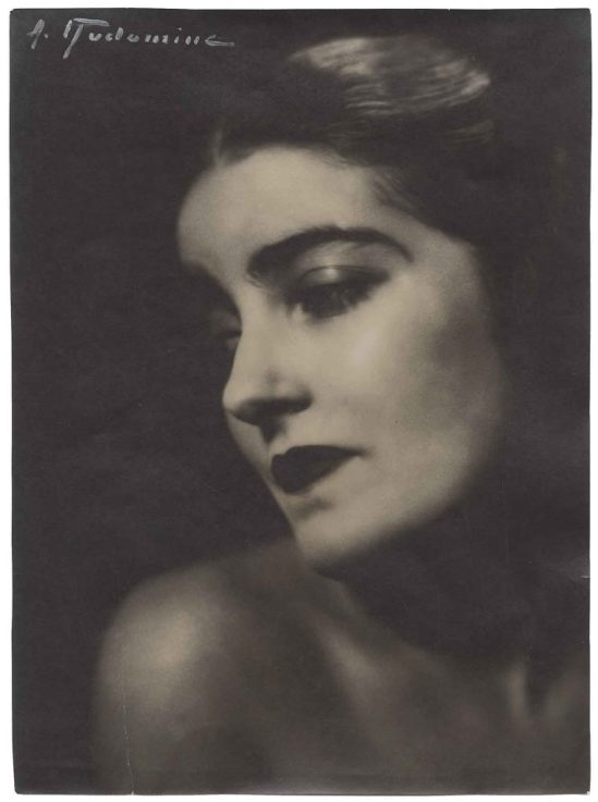 Albert Rudomine.Marcelle Chantal vers 1935 Via artfinding.com