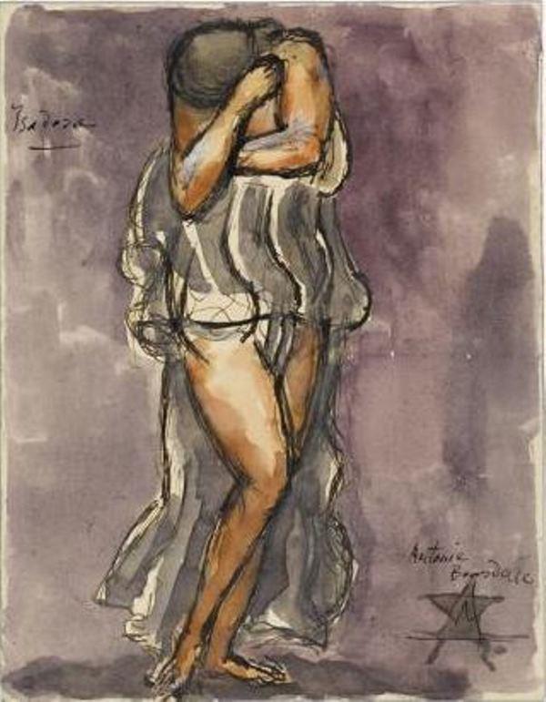 Antoine Bourdelle. Isadora Duncan ®Musée Bourdelle, Paris