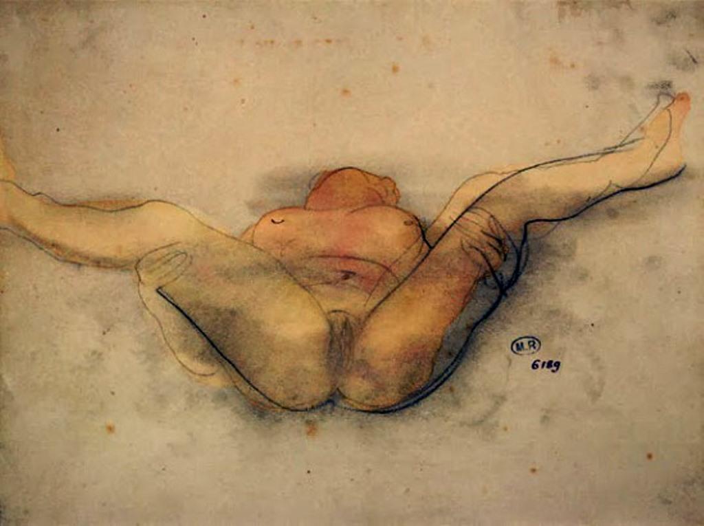 Auguste Rodin. Femme nue sur le dos 1900