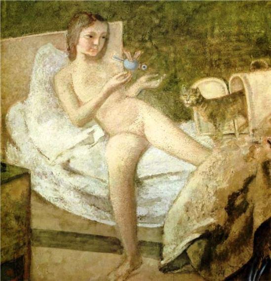 Balthus. Le lever 1977