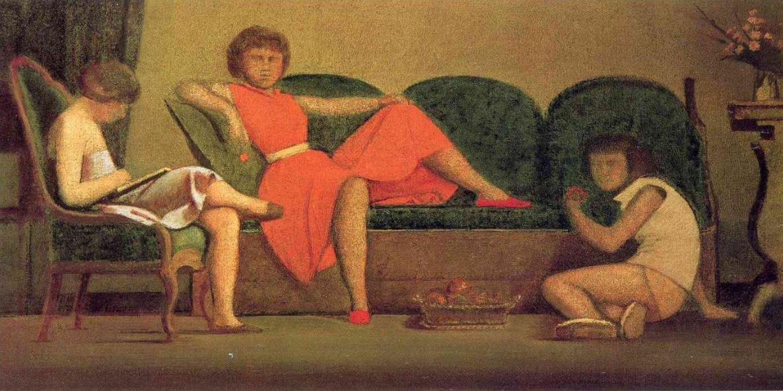 Balthus. Les trois soeurs 1954