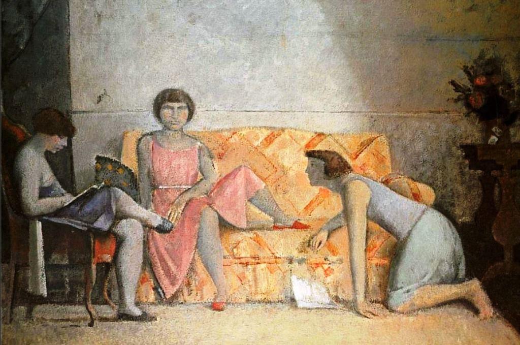 Balthus. Les trois soeurs 1964