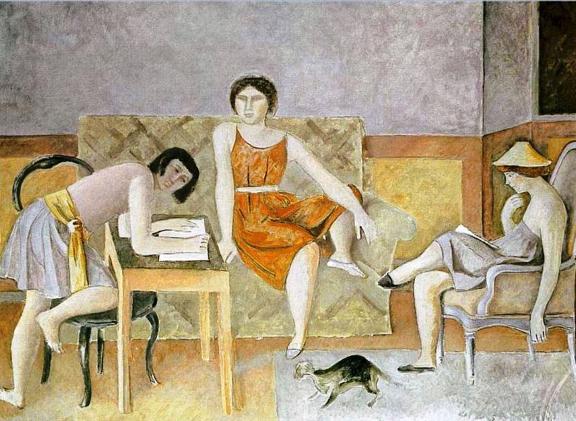Balthus. Les trois soeurs 1965