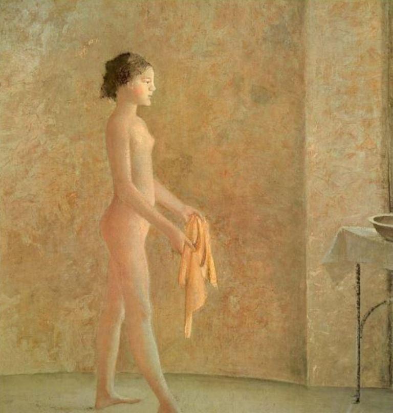 Balthus. Nu de profil 1975