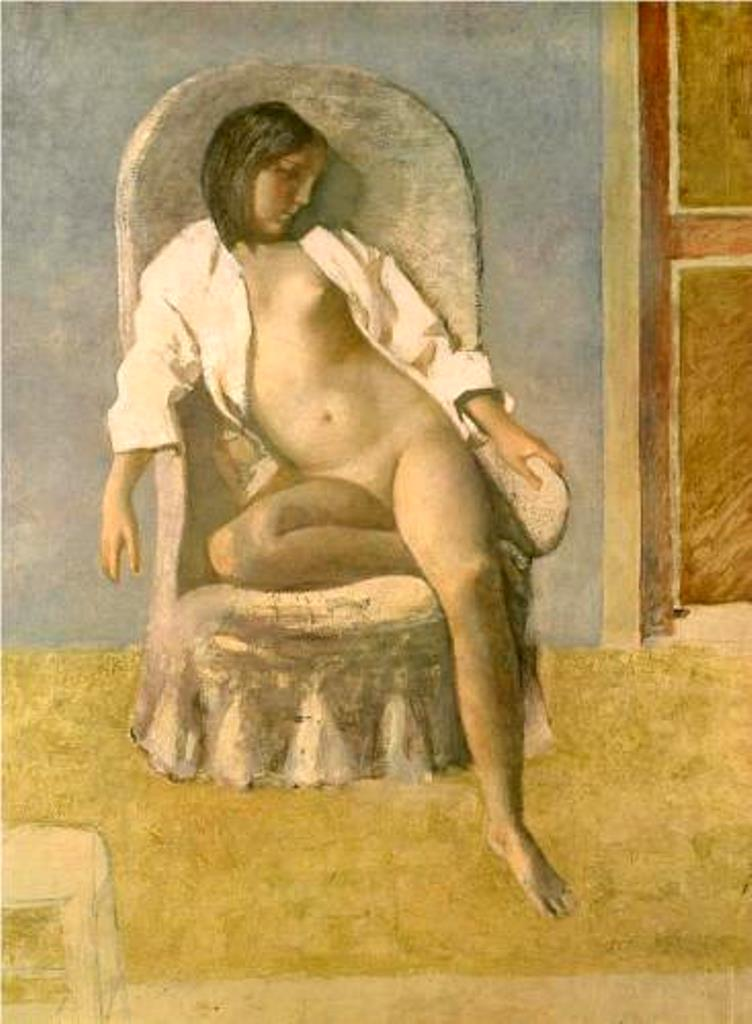 Balthus. Nude at rest 1977