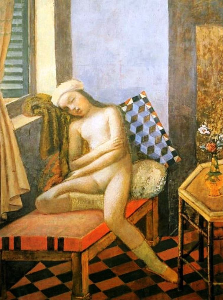 Balthus. Sleeeping nude 1980