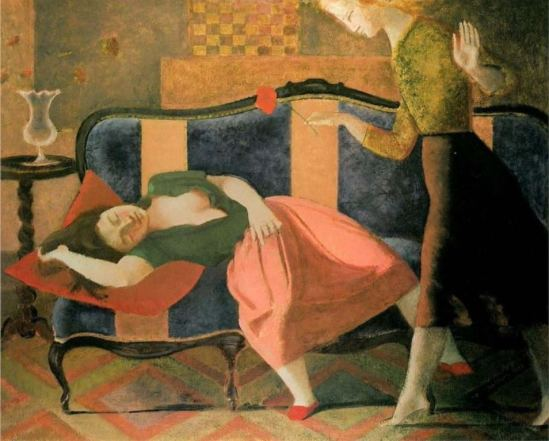 Balthus. The dream 1955