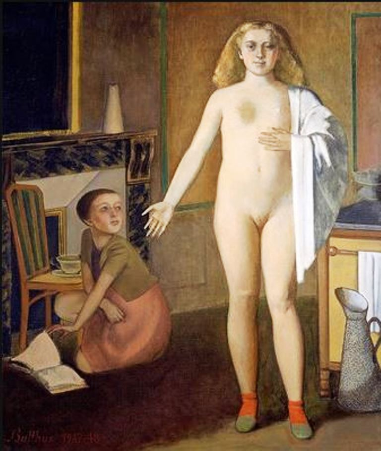 Balthus. The room 1948